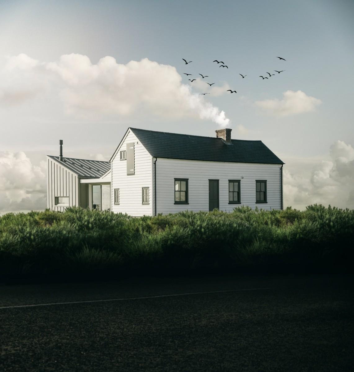 koka karkasa māja, PANELHAUS.LV