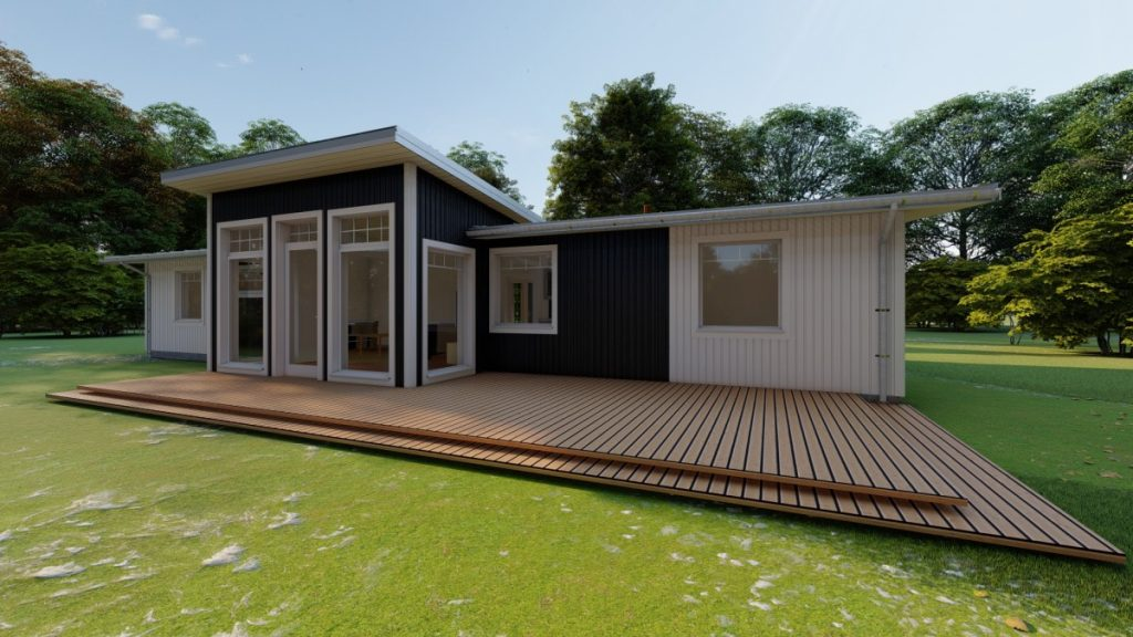 Koka paneļu māja 124 m2