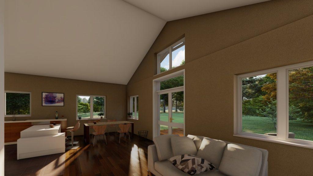 Gatava koka paneļu māja 130 m2