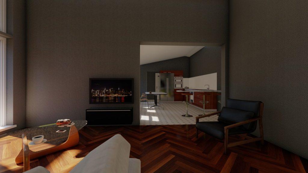 Vienstāva koka paneļu māja 147 m2